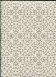 Sloane SketchTwenty3 Wallpaper Fabric Diamond Silver/Cream SL00812 By Tim Wilman For Blendworth